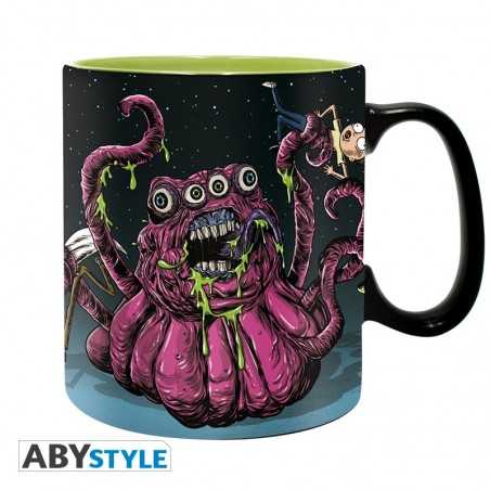 Rick y Morty Taza Monsters