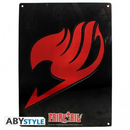 Fairy Tail Metal Placa de...