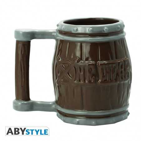 One Piece Taza 3D Barrel