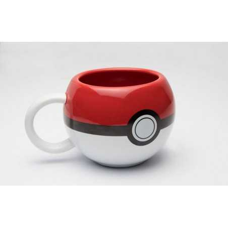 Pokemon Taza 3D Pokeball