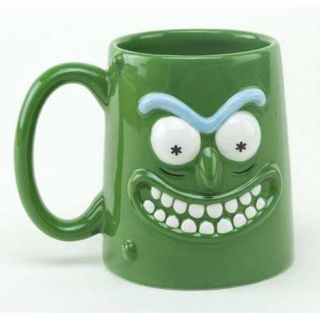 Rick y Morty Taza 3D Pickle...