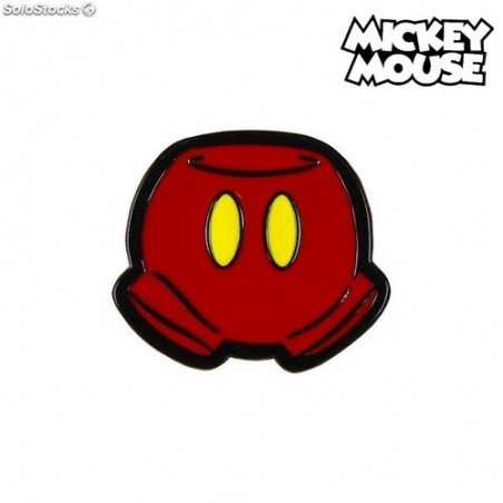 Pin Mickey Mouse Metal Red