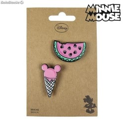 Pin Minnie Mouse rosa