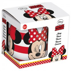 Taza Ceramica Minnie Stripes