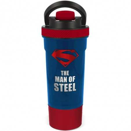 Botella Shaker Superman