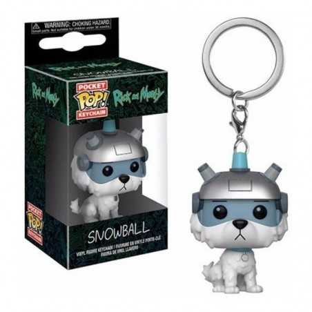 Llavero Pocket POP! Rick y...