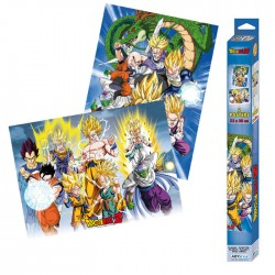 Set 2 Posters Dragon Ball