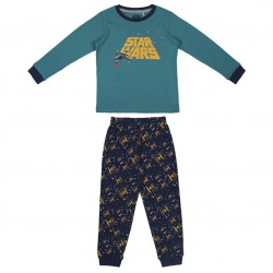 Pijama Largo Interlock Star...