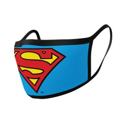 Mascarilla Superman 2 Unidades