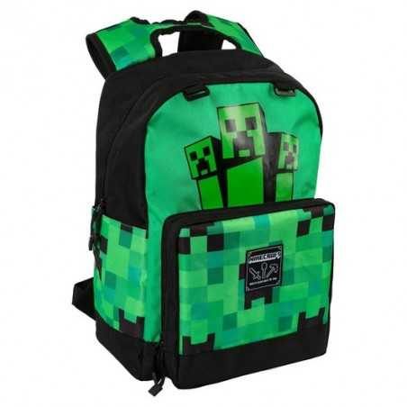 Mochila Minecraft Creeper...