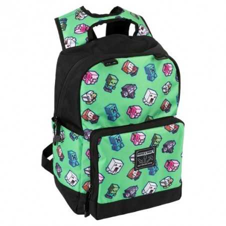 Mochila Minecraft Mini Mobs...