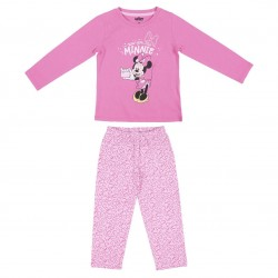 Pijama Largo Rosa Minnie
