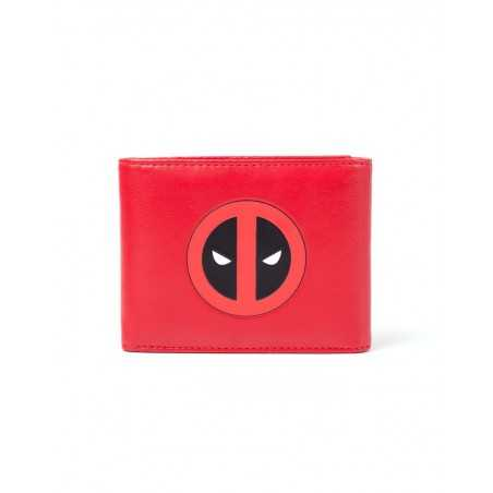 Deadpool Monedero Trifold Logo