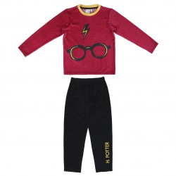 Pijama Largo Velour Harry...
