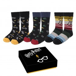 Caja Calcetines Harry Potter