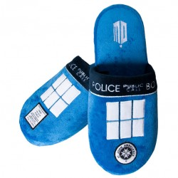 Pantuflas Tardis Doctor Who