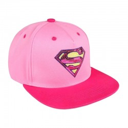 Gorra Superman Rosa