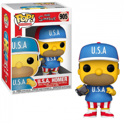 Funko POP! Simpsons USA Homer