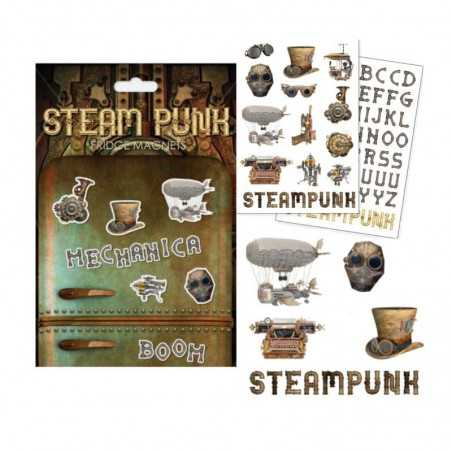 Steampunk Set de 72 Imanes