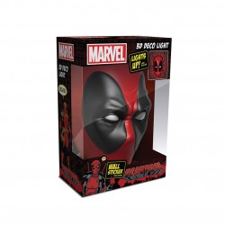 Lámpara Marvel 3D LED Deadpool