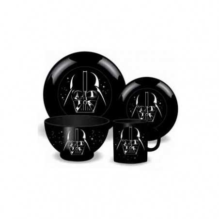 Vajilla Star Wars Set de 4...