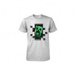 Camiseta Minecraft Creeper...