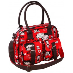 Betty Boop Bolso Attache Rojo