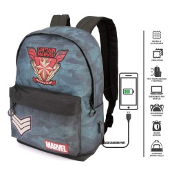 Captain  Marvel Mochila Force