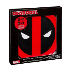 Set de platos Marvel Deadpool