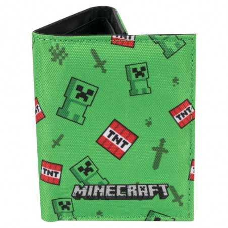 Cartera Minecraft Creeper...