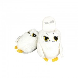 Pantuflas Harry Potter Hedwig