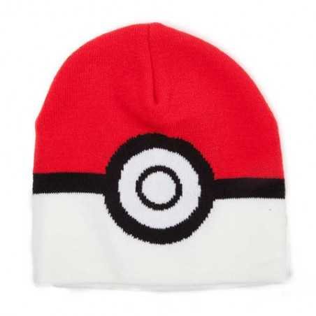 Gorro Lana Pokemon - Pokeball