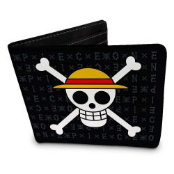 Cartera One Piece Skull Luffy
