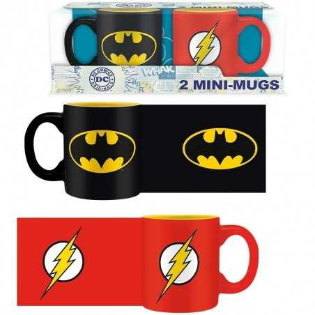 Set 2 Tazas Batman & Flash...