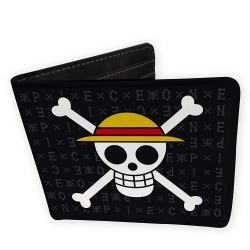 One Piece Cartera Skull Luffy
