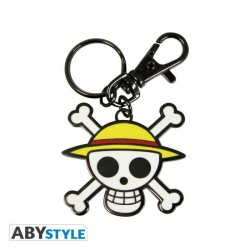 Llavero One Piece Skull Luffy