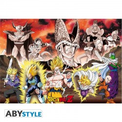 Dragon Ball Poster Grupo Cell