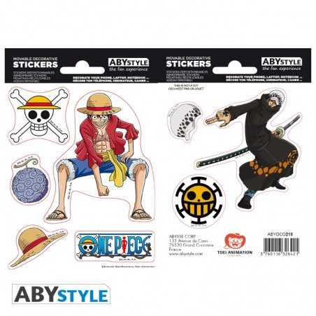 Pegatinas One Piece Luffy &...