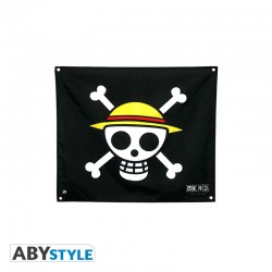 One Piece Bandera Skull Luffy