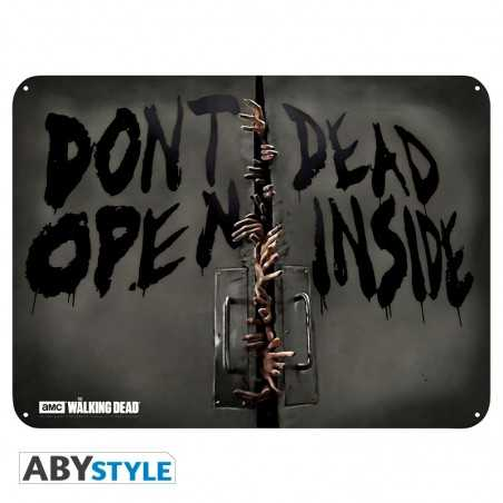 The Walking Dead Placa...