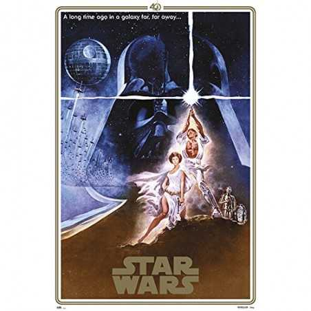 Poster Star Wars Classic 40...