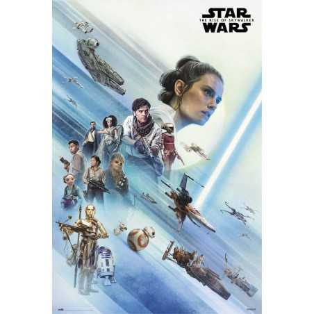 Poster Star Wars Episodio...
