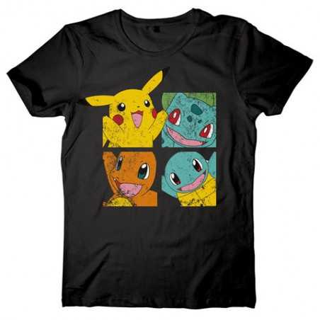 Camiseta Negra POKEMON...