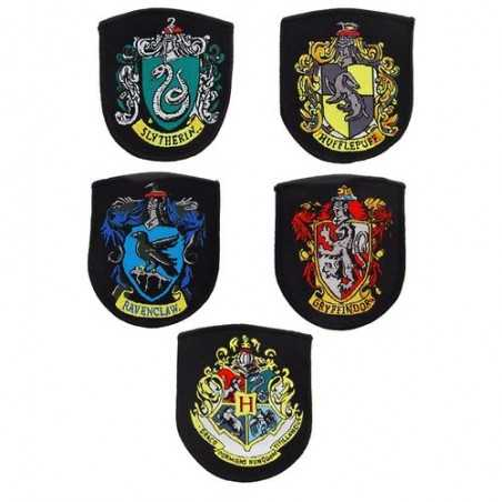 Set Parches Escudos Harry...