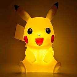 Lampara Led 3D Pikachu Pokemon