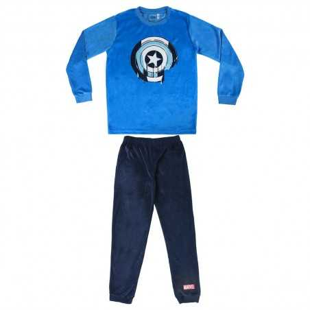 Pijama Largo Velour Poly...