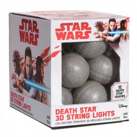 Luces 3D Death Star Wars