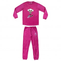 Pijama Largo Velour Poly Lol