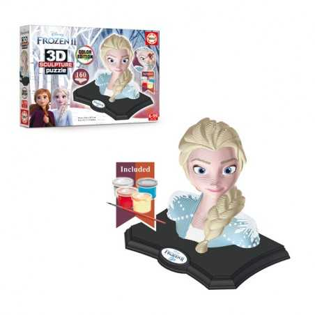 Maqueta Frozen 2 Color 3D Scu