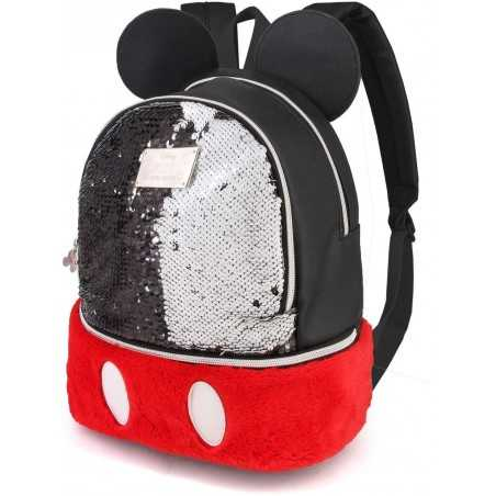 Mickey Mochila Bouquet Sequin